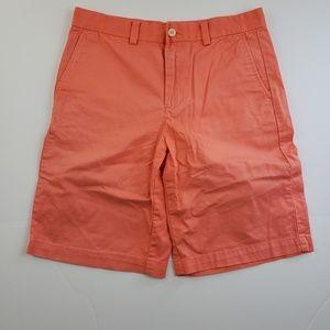 Vineyard Vines boys shorts salmon orange size 16